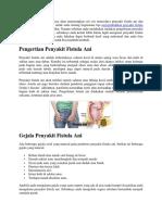Bagaimana Tips Menyembuhkan Penyakit Fistula Ani Menggunakan Bahan Herbal