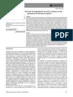 Evaluación del nivel de degradación de suelo y pastura en tres geoformas de Florencia-Caquetá