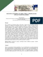 Influência europeia ou mera cópia_ A produção do espaço no Rio de Janeiro