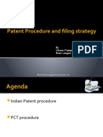 Patent Procedure and Filing Strategy