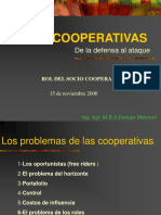 Cooperativas De la Defensa al Ataque