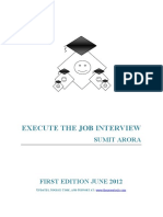 ExecuteTheJobInterview_BySumitArora_June2012