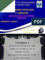 3.1 Ley de Obras Publicas