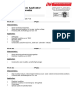 Characteristics and Application of Technical Laminates