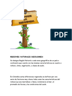 REGIONES NATURALES DECOLOMBIA