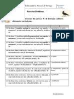 Funções Sintáticas Em Vicente