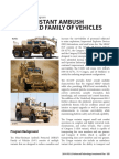 MRAP Family of Vehicles