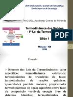 Aula_slide 1_Termodinâmica Sólidos_1ª Lei_EST 2018 (1)