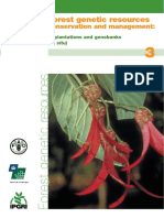 1053 Forest Genetic Resources Conservation and Management.in Plantations and Genebanks Ex Situ - Vol. 3