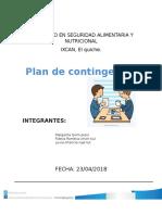 Guia 9. Plan de Contingencia Xcan