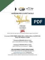 Audizioni Per Lo Spettacolo Aladin