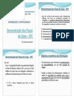 1.Demonstração Dos Fluxos de Caixa – DFC