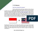 Konflik Indonesia vs Malaysia