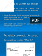 1_04 Transistor de Efecto de Campo JFET