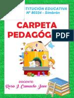 carpeta dedagogica