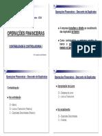 5. Operações Financeiras