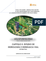 05. Estudio Hidrologico e Hidraulico via Suarez Mindala
