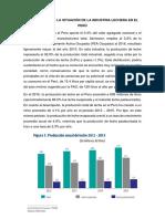 Diagnóstico de La Situación de La Industria Lechera en El Perú 2