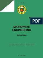 SP 11-021 Microwave Engineering