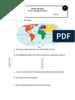 Ficha Hgp 5 Terra e Península Ibérica