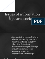 Issues of Information Age and Society