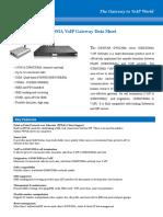 DWG2000 Series VoIP Gateway DateSheet V1.0