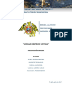 Informe Sondaje Electrico Vertical Fin
