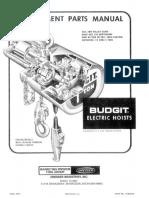 Electric Hoist - June 1973 113534-37