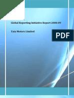 GRI Report 08 09