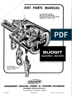 Electric Hoists - June 1971 17010-37D-71