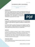 Proporción de Derechos a Niños y Adolescentes (Presentacion de Trabajo)