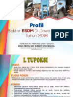 Profil Esdm Jateng 2016