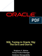 SQL Tuning Oracle 10g