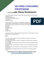 14.Simulado Maria Montessori (1)