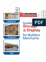 Cronins Racking Catalogue