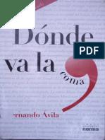 Donde va la coma por Fernando Avila.pdf