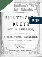 Davidsons_84_duets for Treble Instr