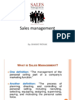 1.Sales Management