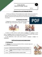 Ficha 5 Ano Resumo Historia Portugal