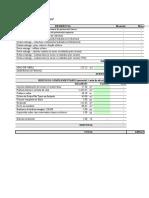 Listagem de Materiais - Cotacao