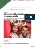 Niños Consentidos_ 9 Pautas Para Educar Con Sentido _ Mamás y Papás
