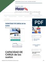 CAPACIDAD de CARGA de Los Suelos _ Como Hacer - Instrucciones y Planos Gratis