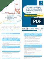 The Locall IInvestments of the Terriitoriiall Sociiall Protectiion Schemes iin Europe