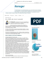 Facilitymanager_ Rol y Perfil Del Facility Manager