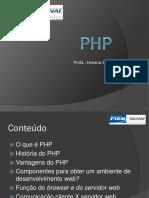 Aula PHP