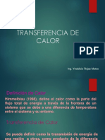Transferencia de Calor Por Conduccion