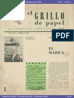 Editorial El Grillo de Papel N° 1