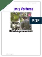 Elaboracion de Productos de Frutasyverduras