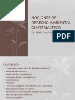 Conceptos Esenciales de Derecho Ambiental Guatemalteco