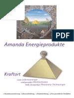 Amanda Produktprospekt